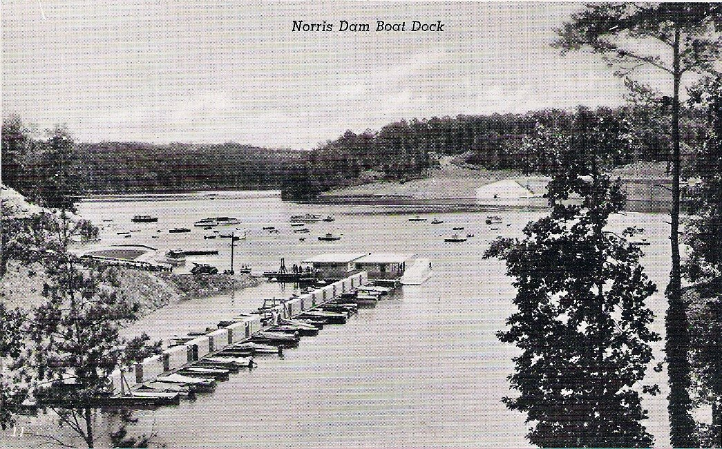 Norris Lake History Norris Dam Construction Photos And