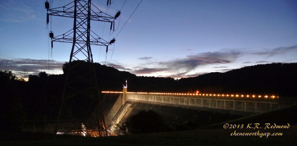 Norris Dam in Twilight_10237486654_o-X2