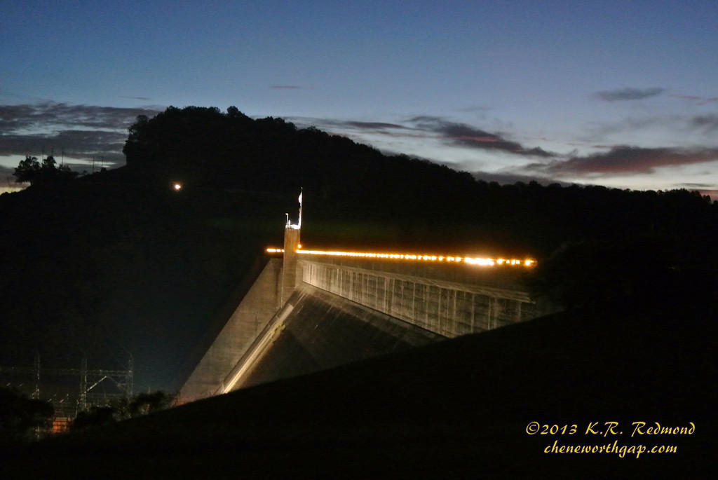 Norris Dam in Twilight_10237585315_o-XL