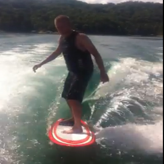 Wakesurfing 2014 norris lake norris lake for Norris lake fishing report